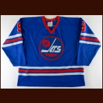 1976-77 Bobby Hull WHA Winnipeg Jets Game Worn Jersey - All Star Season