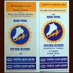 New York Golden Blades Ticket Plan Advertising Brochure Group of 2