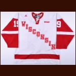2007-08 Kyle Turris University of Wisconsin Game Worn Jersey