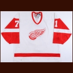 1998-99 Wendel Clark Detroit Red Wings Game Worn Jersey - All Star Season