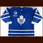 "1999-00 Jonas Hoglund Toronto Maple Leafs Game Worn Jersey – ""Toronto All Star Game"" - Career Best 29-Goal Season - Photo Match"