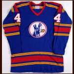1974-75 Bart Crashley Kansas City Scouts Game Worn Jersey