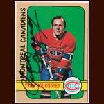 1972-73 Topps  #10 Yvan Cournoyer Canadiens - Autographed