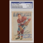 Floyd Curry 1953 Parkhurst - Montreal Canadiens - Autographed - Deceased - PSA/DNA