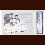 Ken Reardon & Jean Beliveau Autographed Card - The Broderick Collection - Deceased