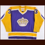 1981-82 Ian Turnbull Los Angeles Kings Game Worn Jersey - The New England Collection