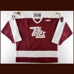 2000-01 Dan Buccella Peterborough Petes Game Worn Jersey – Rookie