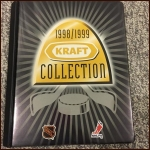 1998/1999 Kraft Hockey Collection Complete Set In Album