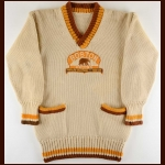 1928-29 Cooney Weiland Boston Bruins Championship Sweater – Rookie - Photo Match - The W. Godfrey Wood Collection – W. Godfrey Wood Letter