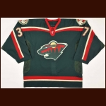 2001-02 Wes Walz Minnesota Wild Game Worn Jersey – Team Letter