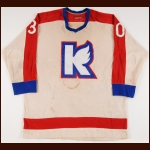 Mid 1970's Kalamazoo Wings Game Worn Jersey – Player #30