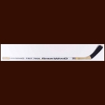 Dale Hunter Washington Capitals White Sher-Wood Game Used Stick