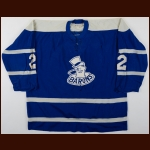 1965-67 Bill Speer & Jacques Lemieux Cleveland Barons Game Worn Jersey
