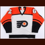 1982-83 Brian Propp Philadelphia Flyers Game Worn Jersey - 40-Goal Season