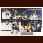 Bobby Orr Photograph Collection of 23 - Printed From the Negatives of Al Ruelle