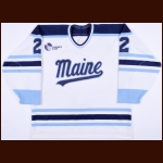 1994-95 Jason Dekker University of Maine Game Worn Jersey