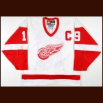 1998-99 Steve Yzerman Detroit Red Wings Game Worn Jersey