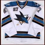 2008-09 Jeremy Roenick San Jose Sharks Game Worn Jersey – Team Letter