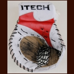Martin Gerber Ottawa Senators White Itech Game Worn Catcher