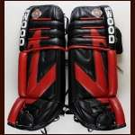 2000-01 Jocelyn Thibault Chicago Blackhawks Sher-Wood Game Worn Pads