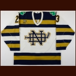 1994-97 Justin Theel University of Notre Dame Game Worn Jersey