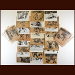 Lot of (105) New York Rangers Wire Photos From 1978-79 Through 1984-85