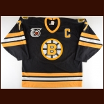 1991-92 Ray Bourque Boston Bruins Game Worn Jersey - 1st Team NHL All Star - All Star Season - King Clancy Memorial Trophy