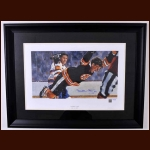 "Bobby Orr ""The Goal"" Artist Canvas – Autographed - Limited Edition #14 of only 44 Made – Great North Road Marketing, BobbyOrr.Com hologram"