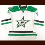 2014-15 Jason Demers Dallas Stars Game Worn Jersey – Photo Match – Team Letter