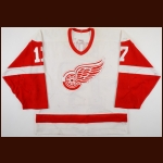 2000-01 Doug Brown Detroit Red Wings Game Worn Jersey