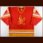 1988-89 Marc Bureau Salt Lake City Golden Eagles Game Worn Jersey