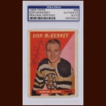 Don McKenney 1958 Topps – Boston Bruins – Autographed – PSA/DNA