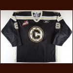 2007-08 Matt Meropoulis Chilliwack Bruins Game Worn Jersey