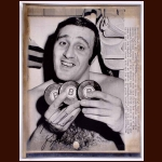 Phil Esposito Hat Trick Autographed Wire Photo