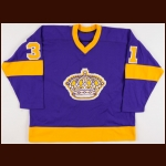 1976-78 Gary Simmons Los Angeles Kings Game Worn Jersey