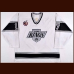 1992-93 Jari Kurri Los Angeles Kings Game Worn Jersey - Photo Match