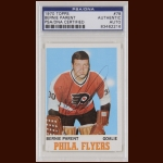 Bernie Parent 1970 Topps - Philadelphia Flyers - Autographed - PSA/DNA