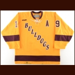 2005-06 Tim Stapleton University of Minnesota-Duluth Game Worn Jersey – Alternate – Team MVP – Photo Match