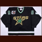 1991-92 Mike Modano Minnesota North Stars Game Worn Jersey