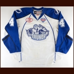 "2016-17 Jake Dotchin Syracuse Crunch Game Worn Jersey – ""2017 Calder Cup Finals"" - Photo Match"