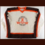 1984-85 Ian O'Rear Windsor Compuware Spitfires Game Worn Jersey