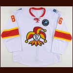"2012-13 Teuvo Teravainen Jokerit Helsinki Game Worn Jersey – ""'European Trophy"" - Photo Match"