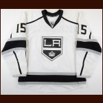 2011-12 Brad Richardson Los Angeles Kings Game Worn Jersey - Photo Match – Team Letter