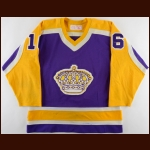 1981-82 Marcel Dionne Los Angeles Kings Game Worn Jersey - 50-Goal & 117-Point Season