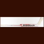 Corey Crawford Chicago Blackhawks Red & White Reebok Game Used Stick – Autographed