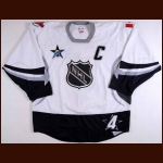 "2003 Scott Stevens NHL All Star Warm-Up Jersey - ""2003 NHL All Star Game"" - Stanley Cup Season"