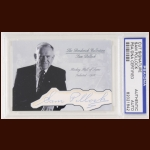 Sam Pollock Autographed Card - The Broderick Collection - Deceased