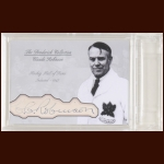 Claude Robinson Autographed Card - The Broderick Collection - Deceased