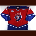 2003-04 Julien Beaulieu P.E.I. Rocket Game Worn Jersey - Inaugural Season