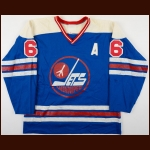 1978-79 Ted Green WHA Winnipeg Jets Game Worn Jersey - Final Game Worn Jersey
